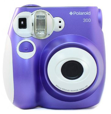 7. Polaroid PIC-300 Instant Film Camera
