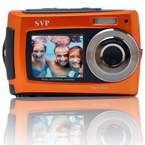 5. SVP 2.7 inch Dual Screen Camera