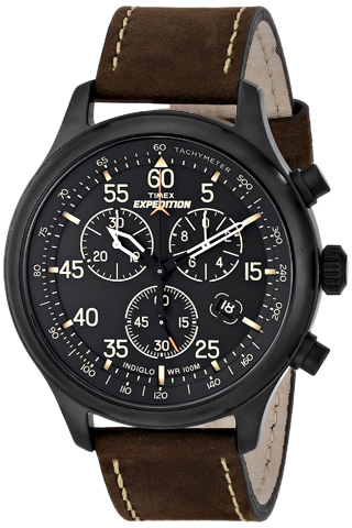 3. Timex Expedition Field Chronograph Watch