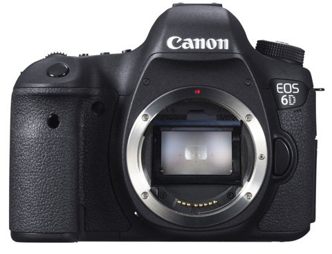 9. Canon EOS 6D 20.2 MP CMOS Camera with 3.0-Inch LCD