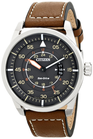 4. Citizen Eco-Drive Men's Stainless Steel Watch