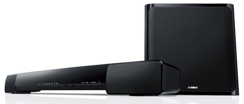 2. Yamaha YAS-203 Soundbar and Wireless Subwoofer