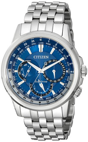 9. Citizen Eco-Drive Men's Stainless Steel Watch