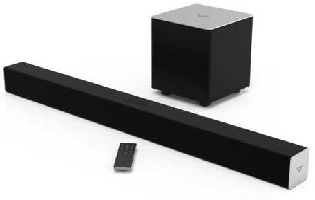 10. VIZIO SB3821-C6 Channel Soundbar with Wireless Subwoofer