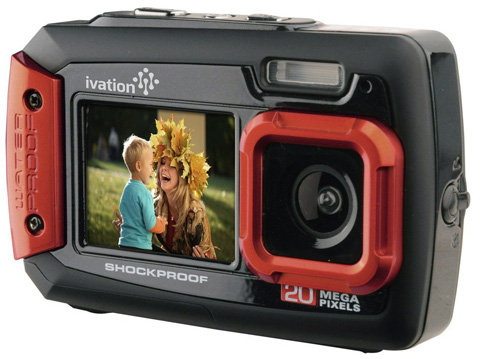 1. Ivation 20MP Underwater Camera