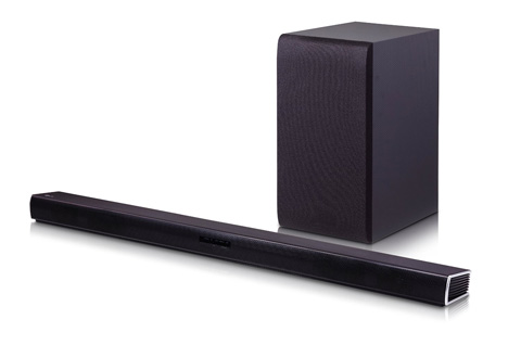3. LG Electronics SH4 2.1 Channel Soundbar with Wireless Subwoofer