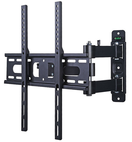1. Lumsing Full Motion Articulating Swivel TV Wall Mount Bracket for 17-55