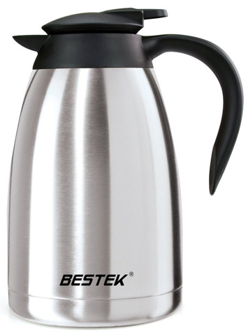 1. BESTEK 50-ounce Insulated Double Wall Stainless Steel Vacuum Thermal Carafe