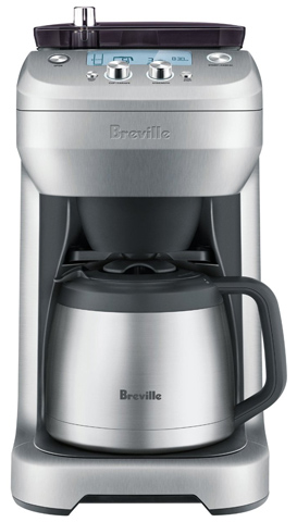 2. Breville BDC650BSS Grind Control, Silver