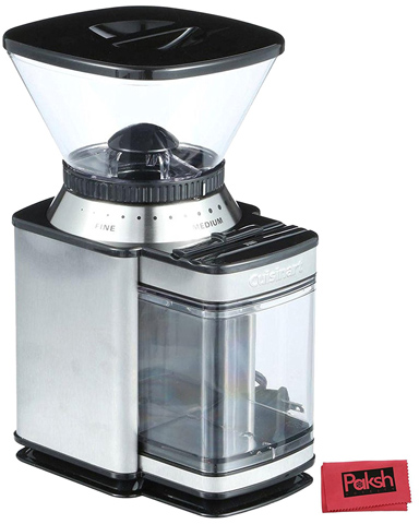 9. Cuisinart DBM-8 Supreme Grind Automatic Burr Mill