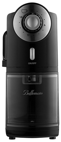 3. Top Rated Bellemain Burr Coffee Grinder with 17 Settings for Drip