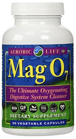 6. Aerobic Life Mag O7 Oxygen Digestive System Cleanser Capsules, 90 Count