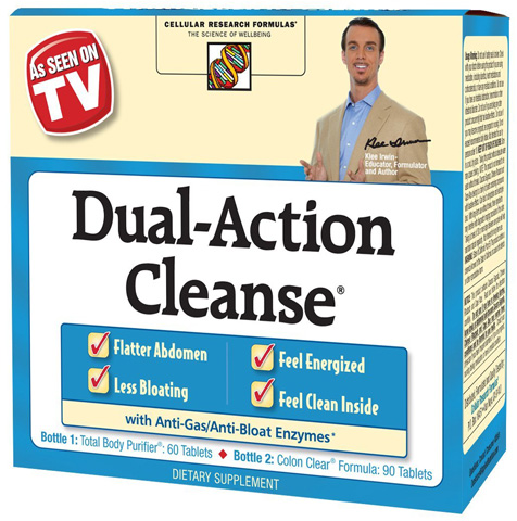2. Applied Nutrition Dual Action Cleanse