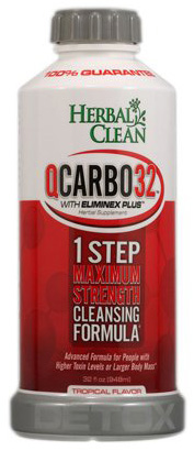 7. Herbal Clean Qcarbo32 with detoxifying your body