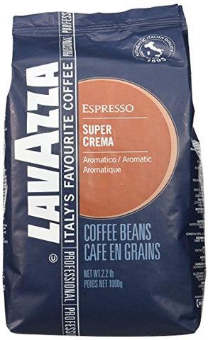 09. Lavazza Whole Bean Espresso Super Crema