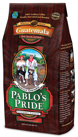 03. Pablo's Pride Medium Roast Gourmet Whole Bean