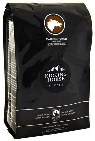 10. Kicking Horse 454 Horse Power Coffee