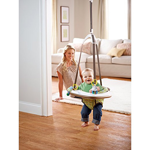 06. Graco Doorway Bumper Jumper, Little Jungle