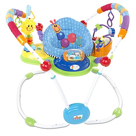 04. Baby Einstein Musical Motion Activity Jumper, Blue