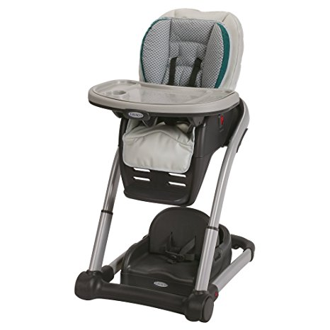 03. Graco Blossom 4 in 1 Convertible High Chair Seating System, sapphire