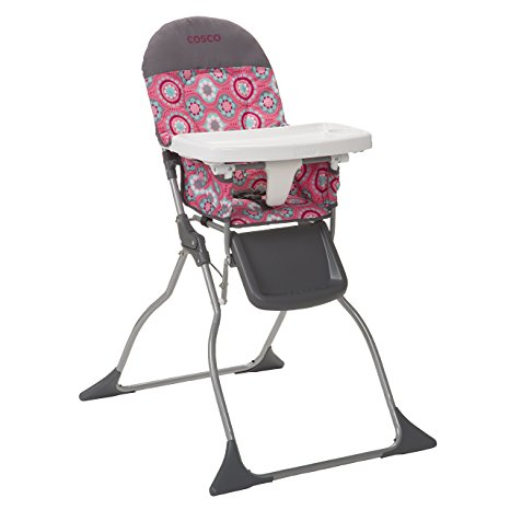 04. Cosco Simple Fold High Chair, Posey Pop