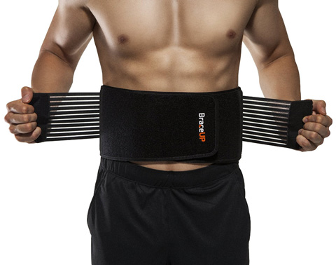 10. BraceUP Stabilizing Lumbar Lower Back Brace and Support Belt