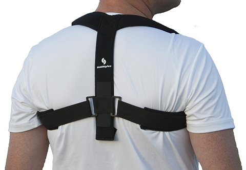 05. StabilityAce Upper Back Posture Corrector Brace and Clavicle Support for Fractures