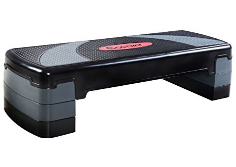 04. Giantex 30 Fitness Aerobic Exercise Stepper W/risers