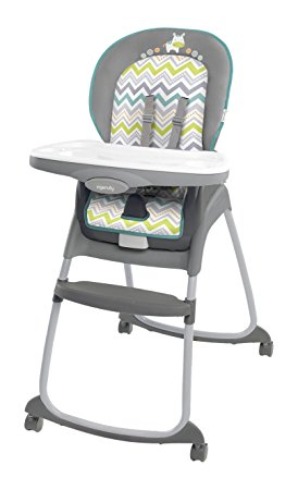 10. Ingenuity Trio 3-in-1 Ridgedale High Chair