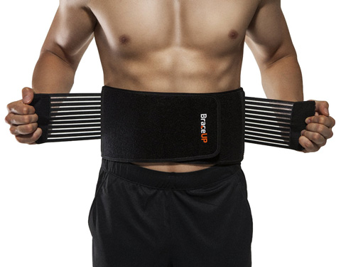 06. BraceUP Stabilizing Lumbar Lower Back Brace and Support Belt