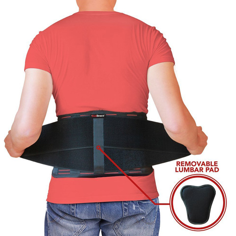 02. AidBrace Back Brace Support Belt - Helps Relieve Lower Back Pain