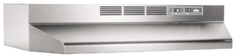 10. Broan 413004 Under-Cabinet Range Hood (ADA Capable Non-Ducted)
