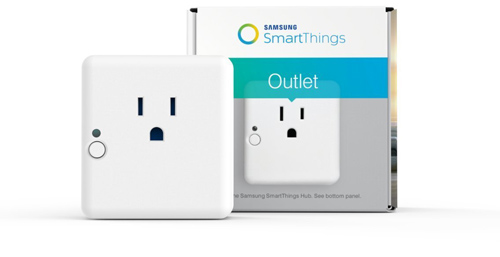 06. Samsung SmartThings Outlet, Works with Amazon Alexa