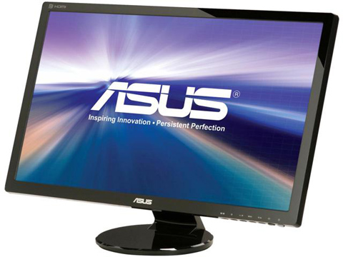 03. ASUS VE278Q 27 Full HD 1920x1080 2ms DisplayPort HDMI DVI VGA Monitor