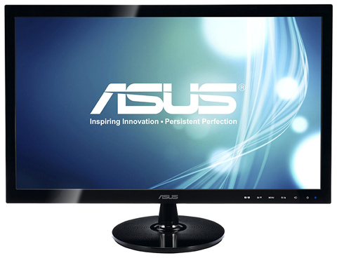06. ASUS VS248H-P 24 Full HD 1920x1080 2ms HDMI DVI VGA Back-lit LED Monitor