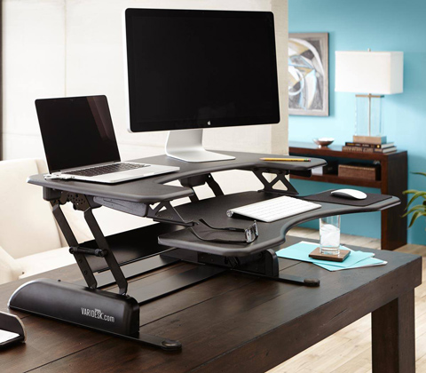 11. VARIDESK Height-Adjustable Standing Desk