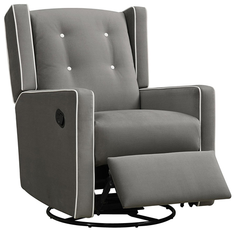 09. Baby Relax Mikayla Swivel Gliding Recliner