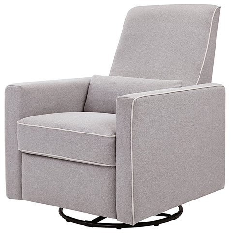 05. DaVinci Piper All-Purpose Upholstered Recliner
