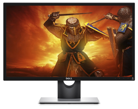 05. Dell Gaming Monitor SE2417HG 23.6 TN LCD Monitor with 2ms Response Time