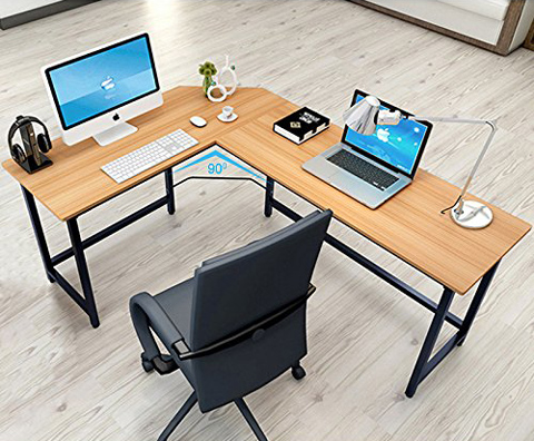 01. Tribe signs Modern L-Shaped Desk Corner Workstation