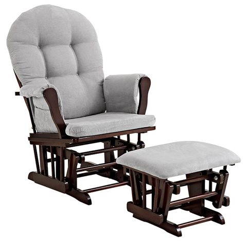 06. Angel Line Windsor Glider and Ottoman