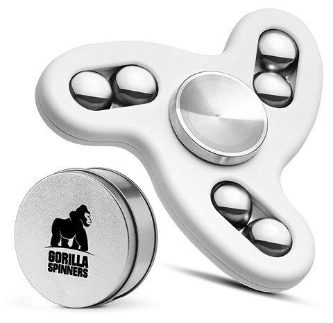 01. Gorilla Spinners - Upgraded Fidget Spinner Toy with High Speed Quiet Bearing