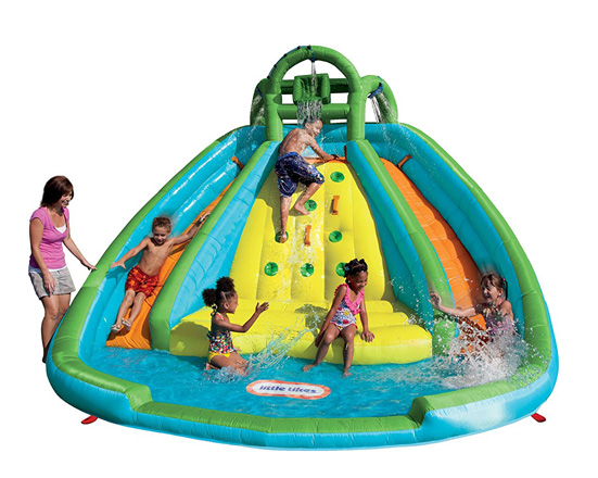 Little Tikes Rocky Mountain River Race Infatable Slide Bouncer