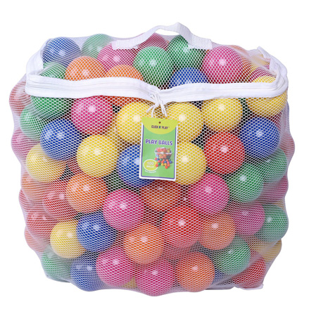 Click N' Play Pack of 100 Phthalate Free BPA Free Crush Proof Plastic Ball, Pit Balls