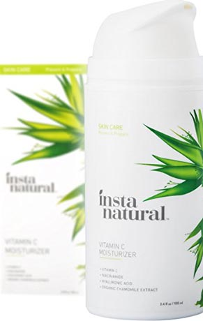 InstaNatural Vitamin C Moisturizer Cream Facial Anti Aging & Wrinkle Reducing Lotion for Men & Women