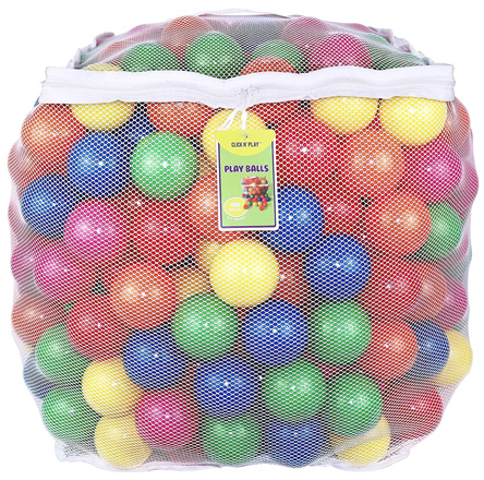 Click N' Play Value Pack of 400 Phthalate Free BPA Free Crush Proof Plastic Ball