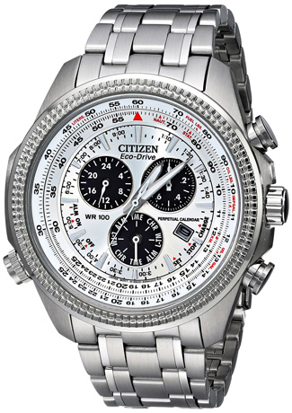 Citizen Eco-Drive Men's BL5400-52A Eco-Drive Stainless Steel Sport Watch with Link Bracelet