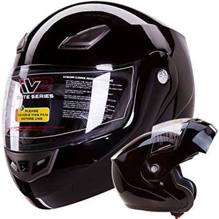IV2 Bluetooth Compatible Modular Flip up Motorcycle Helmet