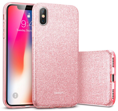 IPhone X Case, iPhone 10 Careers Luxury Glitter Series Sparkle Bling Protective Bumper Case