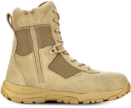 Maelstrom Men's LANDSHIP eight inches Military Tactical Duty Work Boot